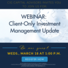 Important Client Announcement Related to COVID-19
